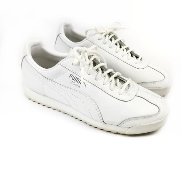 Puma Shoes - Womens Puma Roma Metallic Stitch Women's Sneakers